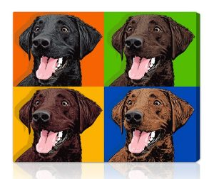 Custom Canvas Dog Portraits