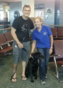 Flight Attendant Reunites Soldiers With Their Dogs