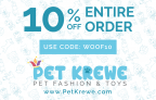 Pet Krewe: 10% Off Entire Order